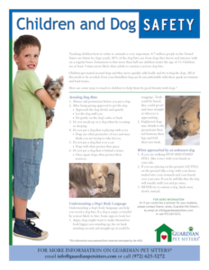 Child and dog safety